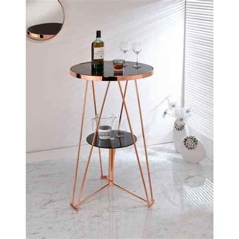 black and rose gold dresser acme furniture jarvis black and rose gold storage pub bar