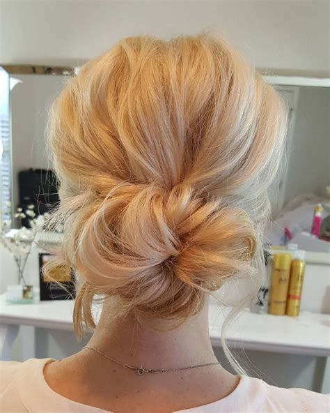 blonde hairstyles updo 25 best ideas about blonde updo on pinterest messy updo