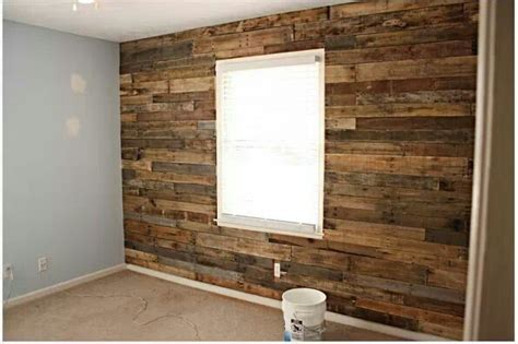 pallet wood accent wall for the home pinterest other accent wall made from wood pallets house pinterest