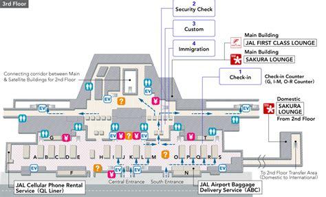 narita airport floor plan narita international airport terminal map airport guide
