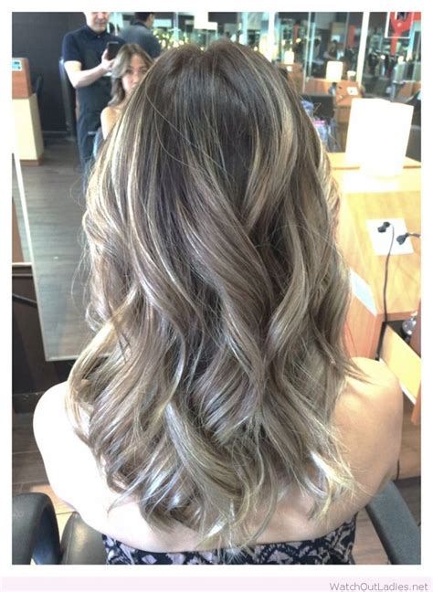 Ash Brown With Ash Blonde Balayage Pictures | ombre ash brown with balayage ash blonde watch out ladies