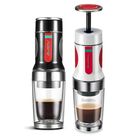 Press Coffee Maker original barsetto portable press coffee maker mini