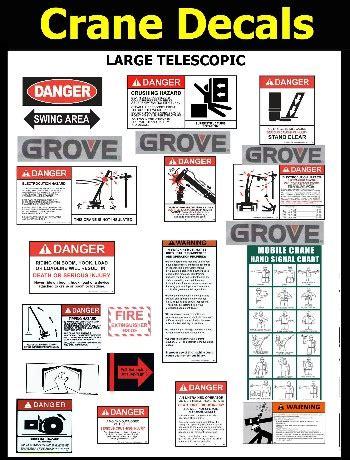 Liebherr Crane Stickers