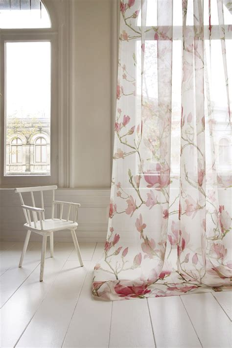 canterbury floral curtains magnolia christian fischbacher fabric available from