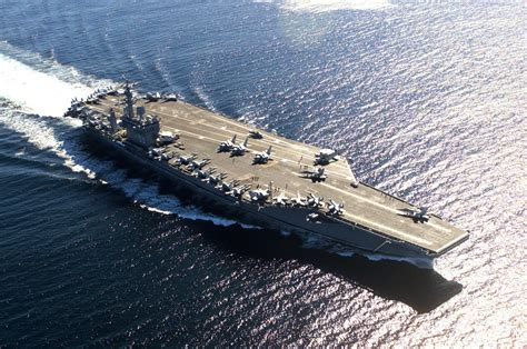 the biggest aircraft carriers in the world therichest