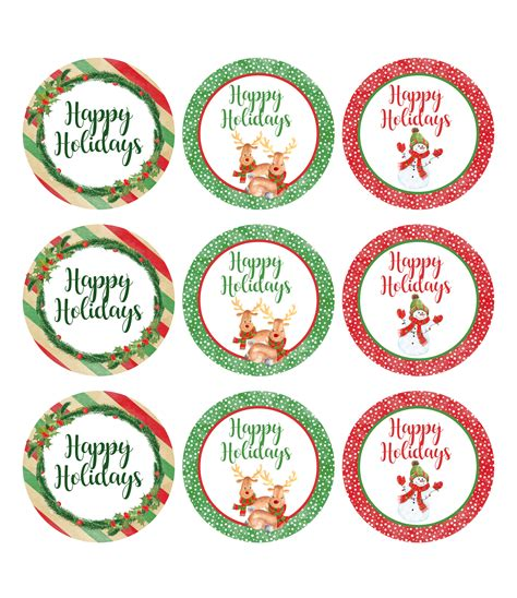 printable christmas jar toppers christmas gift giving free printables onion rings things