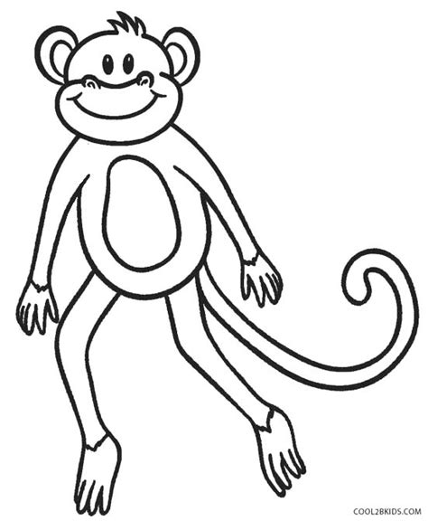 howler monkey coloring page howler monkey page coloring pages
