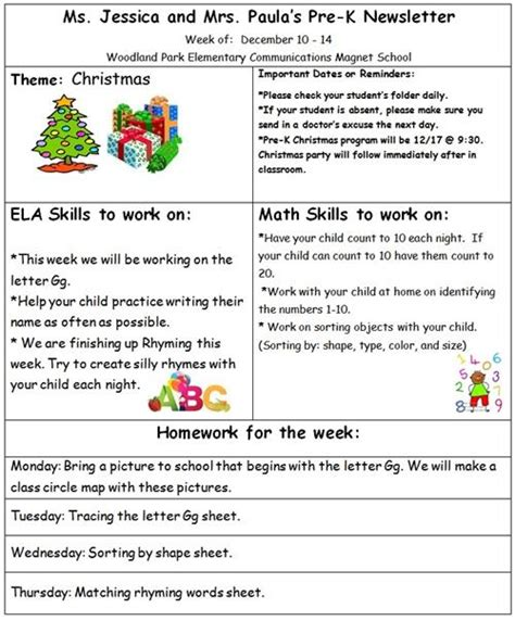 third grade newsletter template keown 3rd grade weekly newsletter