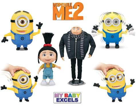 Me Me Me 2 - mbe releases despicable me 2 toys in india the toy book