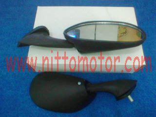 Spion Mini Bulat Suzuki White kaca spion nitto motor accessories spare part