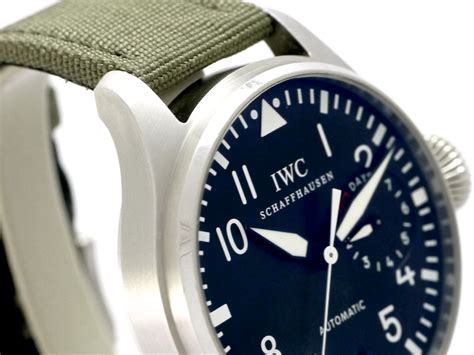 Watch Big White 2005 Iwc Big Pilots Watch Ref Iw500401 Stainless Steel Box Bj 2005