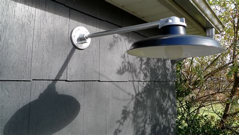 Classic Outdoor Gooseneck Lighting For A Modern Ny Lights Yard