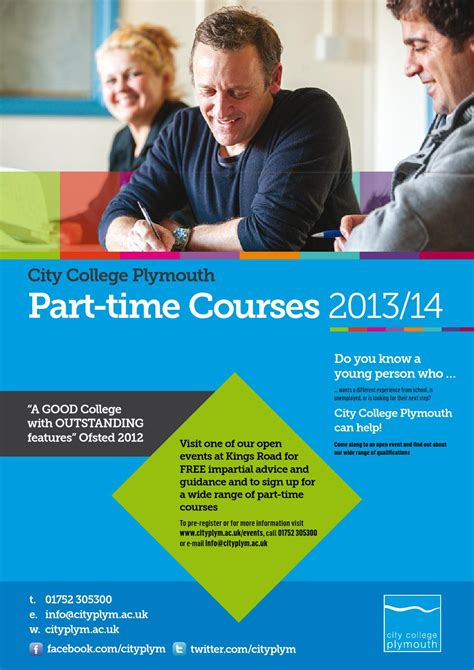 part time plymouth part time course guide 2013 14 by city college plymouth