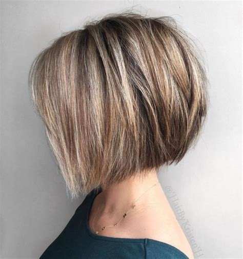 silver hair jaw length chin length bob hairstyles for fine hair gray is