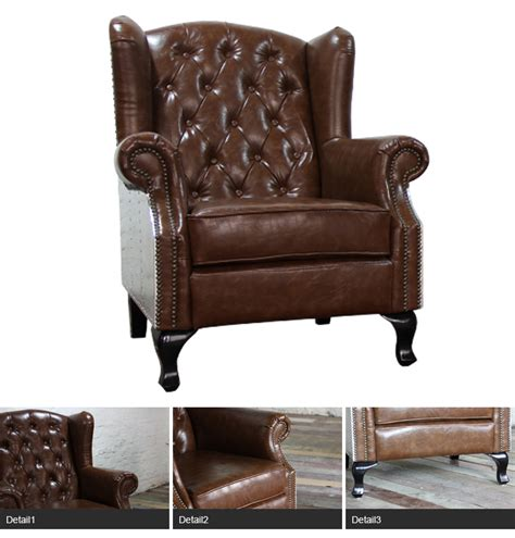 leather high back sofas aluminium back leather high back sofa wing chair single
