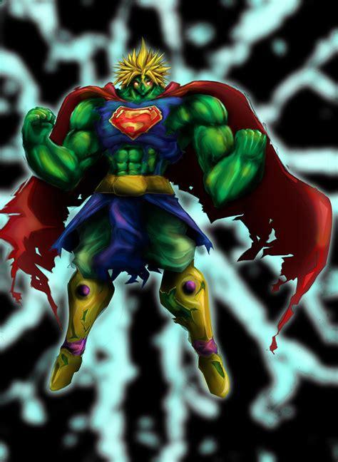 imagenes de goku vs hulk fusion broly hulk superman by wacko27 on deviantart