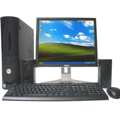 dell desk top computer dell optiplex gx620 desktop computer with lcd monitordell