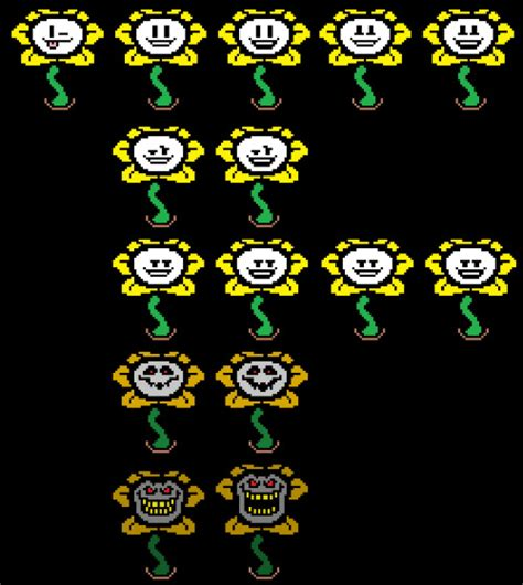 Flowey Square image flowey faces jpg vs battles wiki fandom powered by wikia