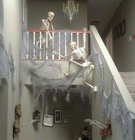 how to make scary halloween decorations at home best 25 indoor halloween decorations ideas on pinterest
