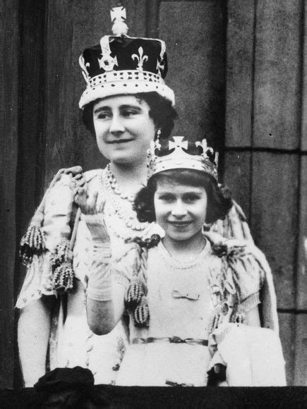 See Queen Elizabeth and Princess Margaret on Their Father