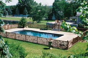 pool fence ideas for beauty privacy and safety