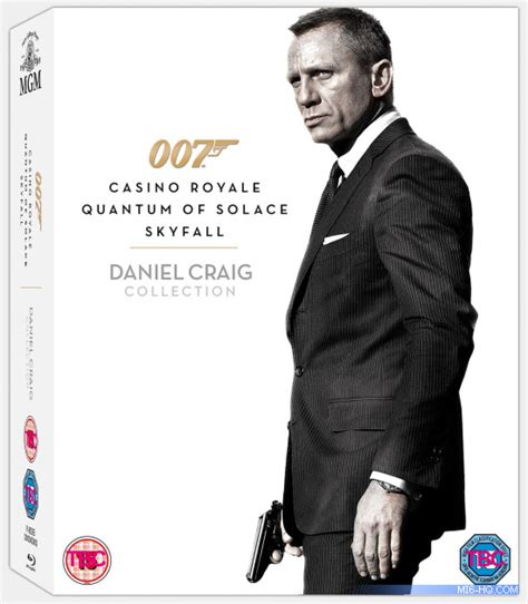 New James Bond Film Age Rating   a set containing all three of daniel craig s 007 films