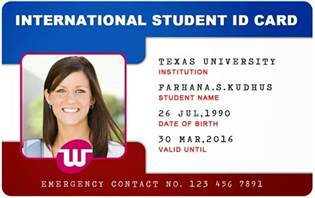 School Id Templates by Beautiful Student Id Card Templates Desin And Sle Word