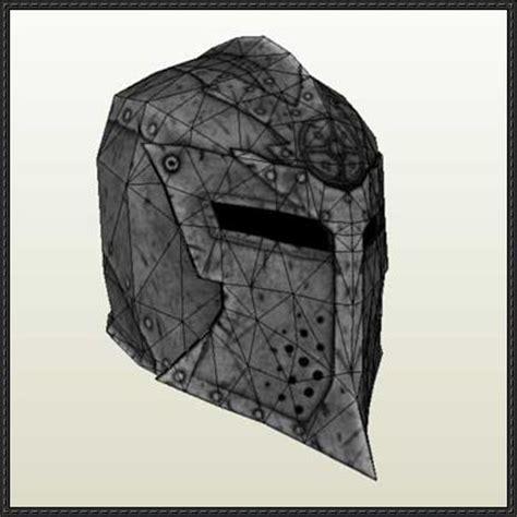 skyrim helmet template the elder scrolls dawnguard helmet papercraft free