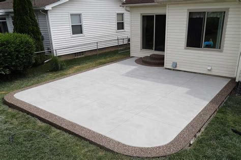 How To Up A Concrete Patio by Gallery Cowboy Concrete