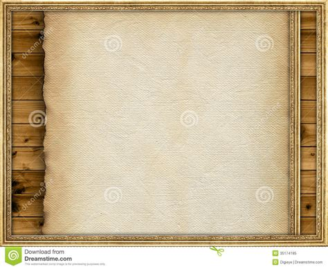 paper picture frame template template paper sheet and picture frame royalty free