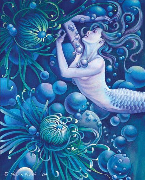 mermaid fairy mermaids gardens and original art on pinterest