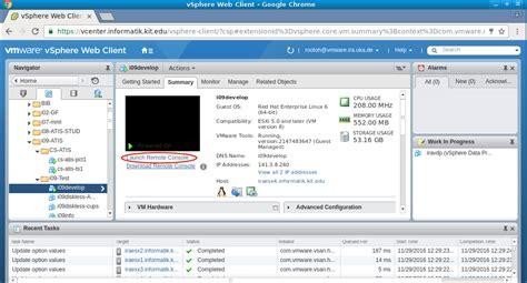 vmware remote console atis dienste it dienste vmware vsphere web client