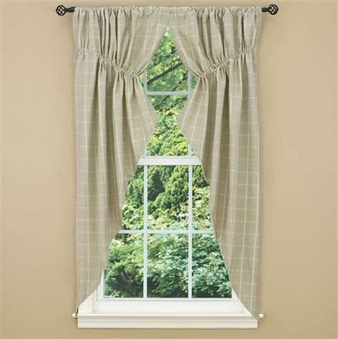 gathered swag curtains grayson lined gathered window curtain swag 72 x 63