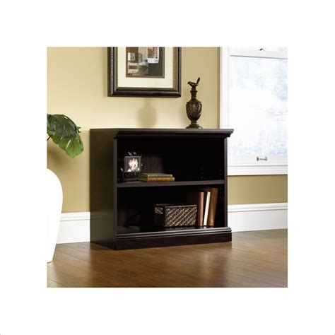 Sauder 2 Shelf Bookcase Sauder 2 Shelf Bookcase In Estate Black 412175