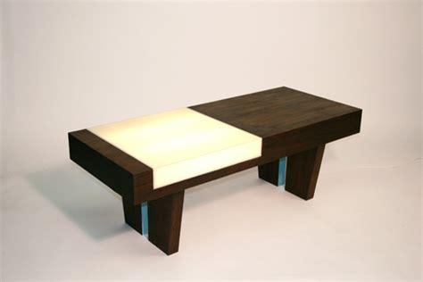 Light Up Coffee Table by Light Me Up Coffee Table Zoe Pinfold Design