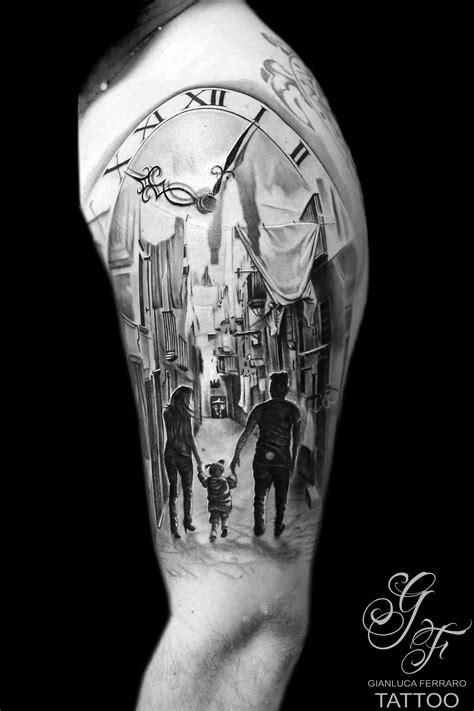 watercolor tattoo napoli gianluca ferraro napoli vicoli di napoli