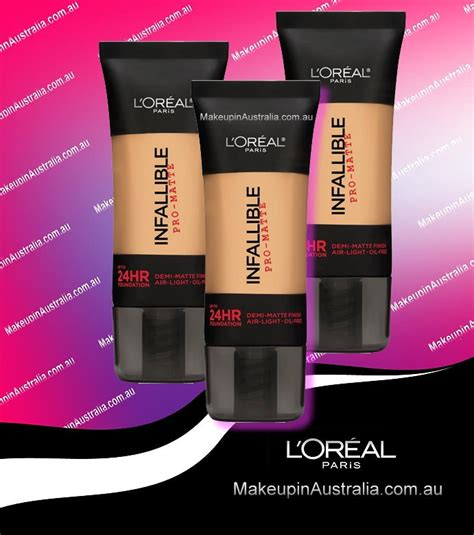 L Oreal Infallible Pro Matte 24 Hour Foundation Harga l oreal loreal infallible pro matte up to 24