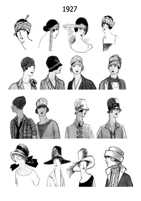 20s flapper hairstyles with hats hats hair 20s 30s 1920s pinterest 1920s hats hat