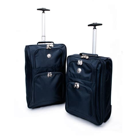 lightweight cabin luggage travel holdall wheeled