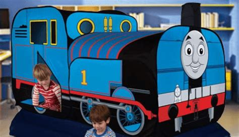thomas the train bed tent kids woot deals save 30 on licensed 2 in 1 bed topper