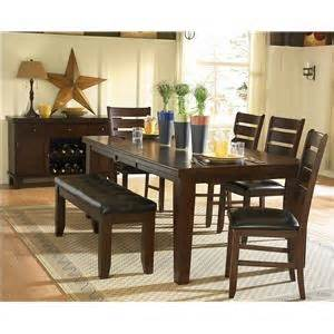 Kitchen Collection Vacaville by Homelegance 586 Round Counter Height Four Drop Leaf Table