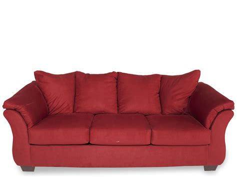 ashley furniture darcy sofa ashley darcy salsa sofa mathis brothers furniture