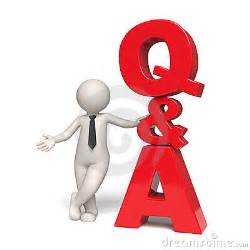 q amp a icon questions and answers 3d man stock photo