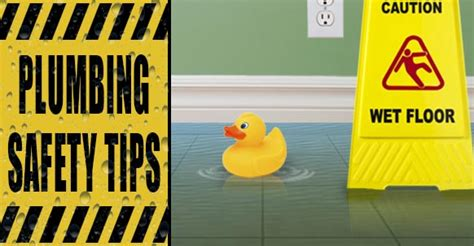 Plumbing Safety Tips by Diy Plumbing Safety Tips