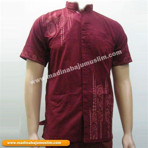 Koko Merah Size M madina griya busana muslim busana muslim baju muslim
