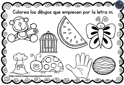best Dibujos Para Colorear Que Comienzan Con La Letra M image collection