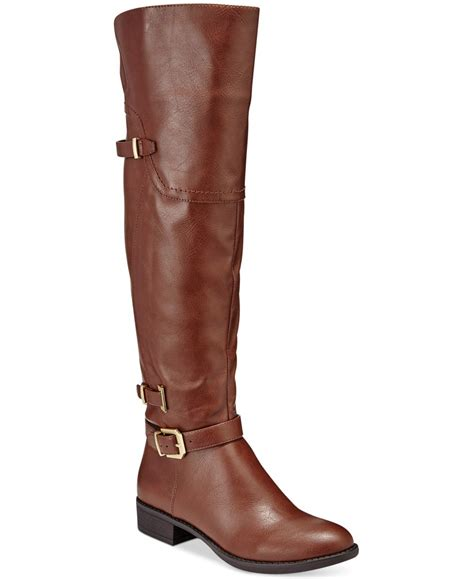 macys boots style co adaline the knee boots only at macy s in