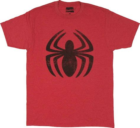 Kaosbajut Shirtspiderman Logo amazing vintage logo t shirt sheer