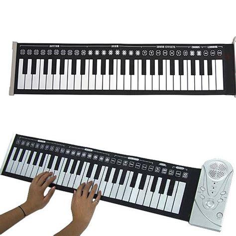 Rhatmic Gergaji Lipat Portabel s76 piano elektronik boleh lipat 49 key original lagu muzik latihan kedaionlinemy