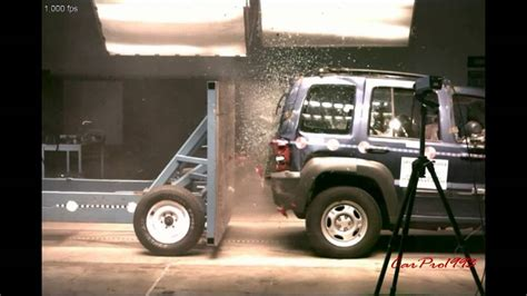 Jeep Patriot Crash Test Jeep Nhtsa Crash Test Compilation 1978 2014